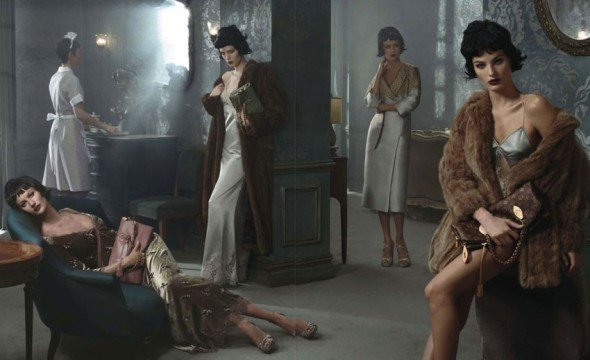 Campanha de Louis Vuitton