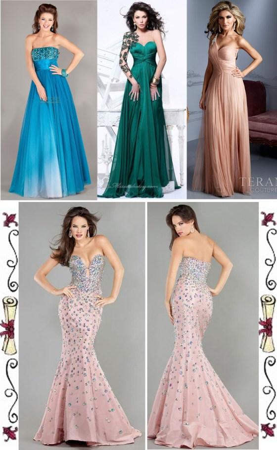 lindos vestidos longos para formatura