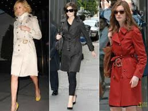 Trench coat existe no guarda-roupa feminino