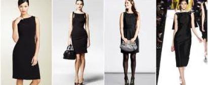 vestido preto é o clássico do guarda-roupa da mulherada