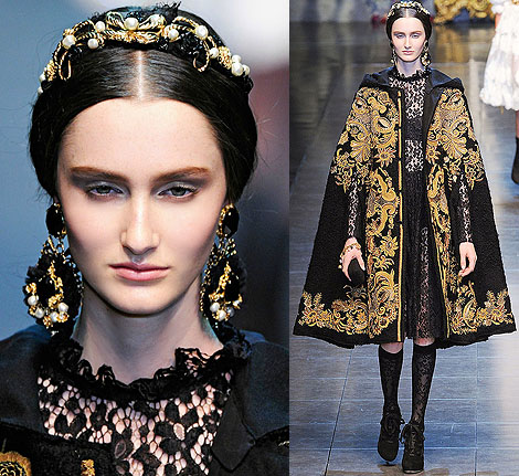 Dolce Gabbana Milan Fashion Week