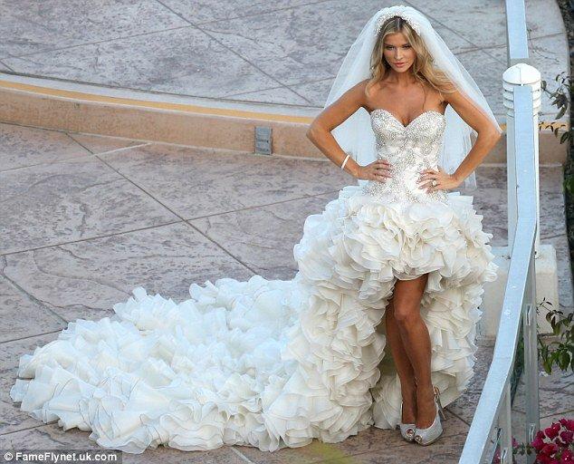 vestidos de noivas sensuais