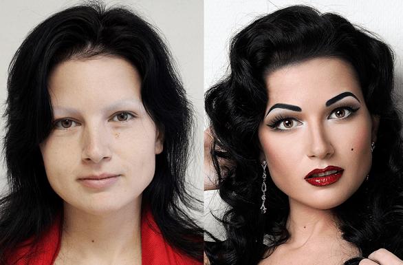 transformação incrível - antes e depois por  vadim andree