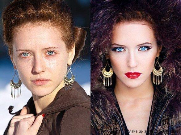 não existe mulher feia, existe mulher que não sabe se maquiar
