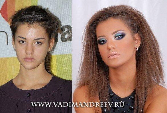melhores transformações de beleza