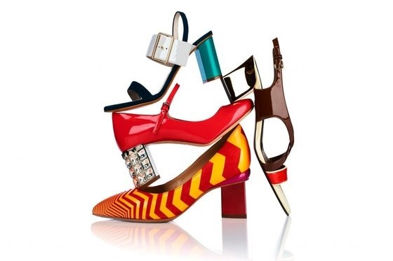 imagem do sapato salto bloco