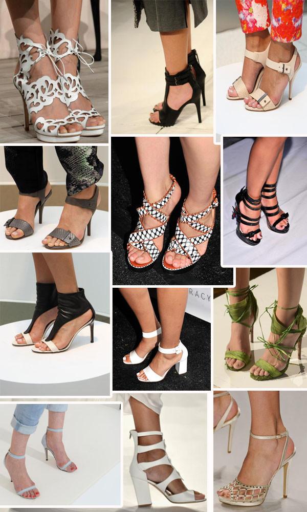 tendências de sandálias para 2014