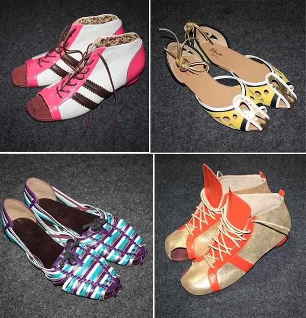 tendências de sapatos baixos para 2014