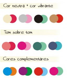 combinação de cores para duas ou mais estampas juntas