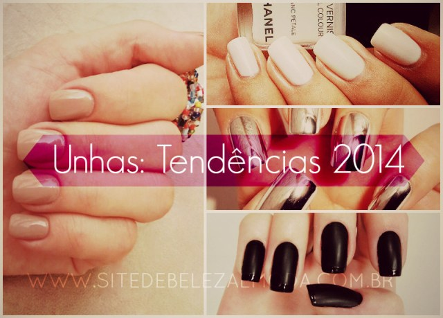 tendências de unhas 2014