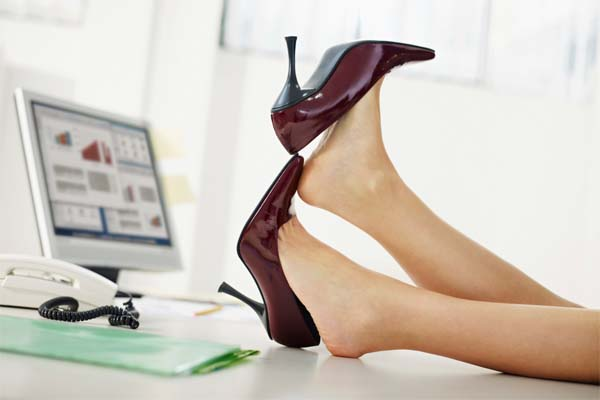 sapato ideal para trabalhar