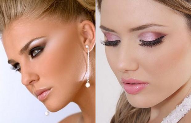 maquiagem para noivas que casam durante o dia