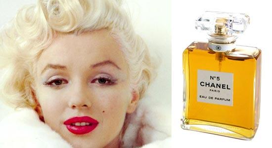 perfume predileto de Marilyn Monroe