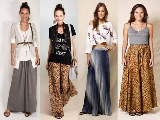 estilos de sais longas