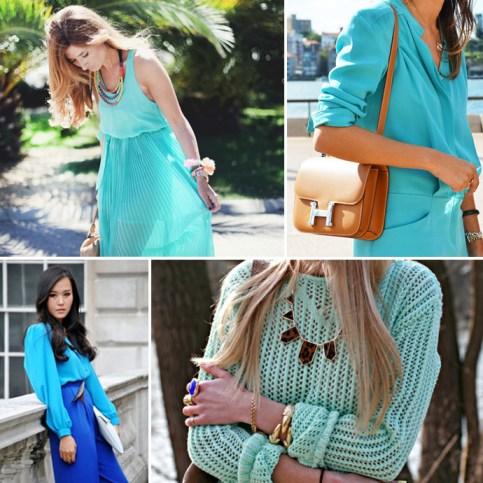 moda turquesa