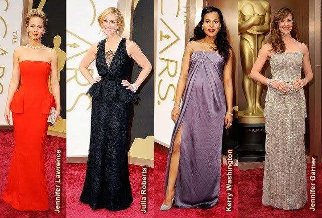 Look Oscar 2014 para copiar