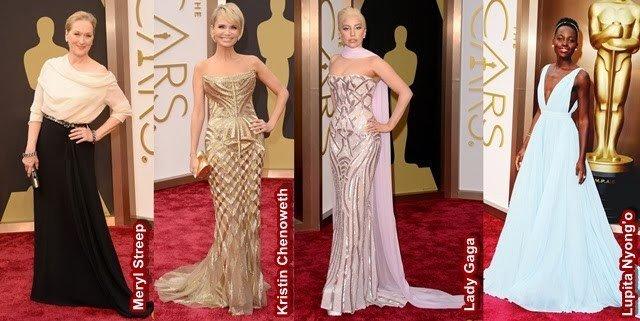 Looks do Oscar 2014 para inspirar