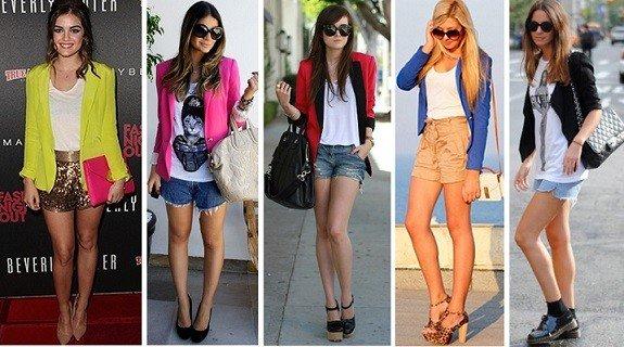 look moderno com blazer
