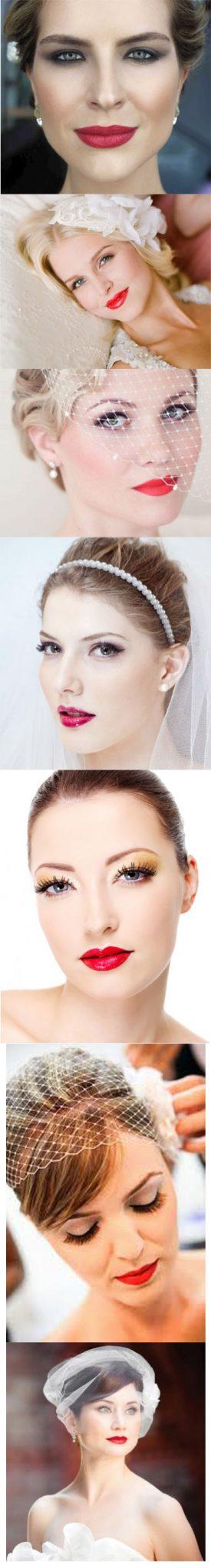 tendências de make-up para noivas