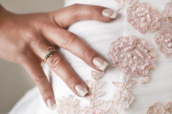 como fazer unhas decoradas para noivas