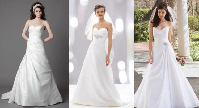vestido para noivas baixinhas