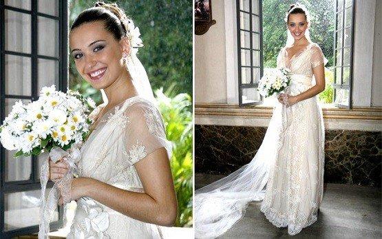 vestidos de noiva das novelas em estilo vintage