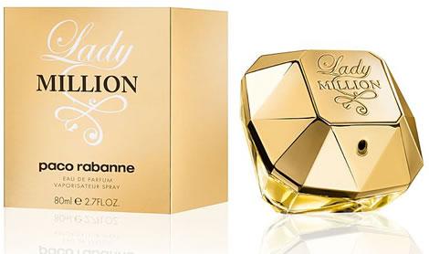 Lady Million, de Paco Rabanne é um dos perfumes para noivas