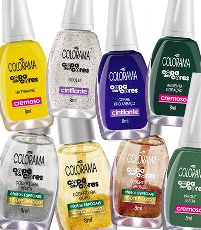 copa das cores Colorama