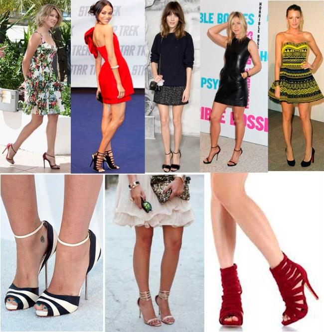 O sapato ideal para mulheres altas/pernas longas