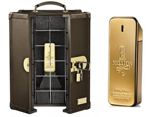 Paco Rabanne 1 Million - 18K Luke Edition terceiro na lista dos perfumes mais caros do mundo