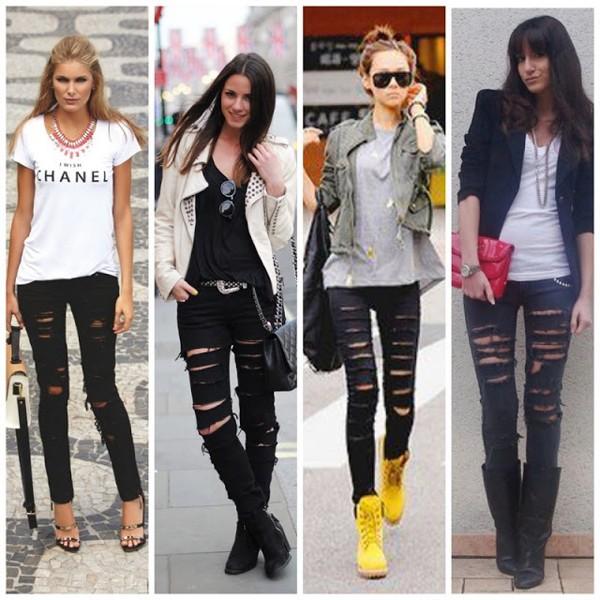 Jeans Navalhado