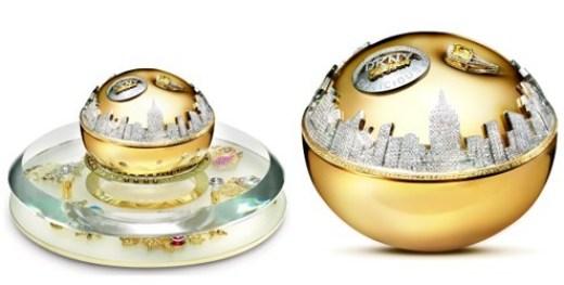 Golden Delicious Million Dollar Fragrance Bottle da DKNY no topo da lista de perfumes mais caros