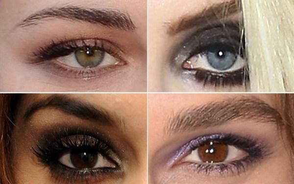 combinar maquiagem com a cor dos olhos