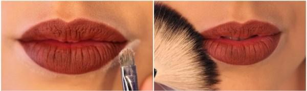 Maquiagem para diminuir lábios grossos