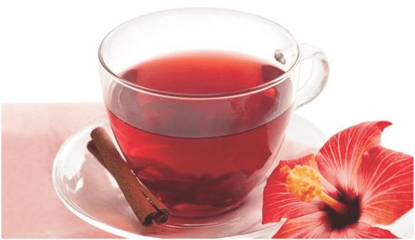 chá para acabar com inchaço