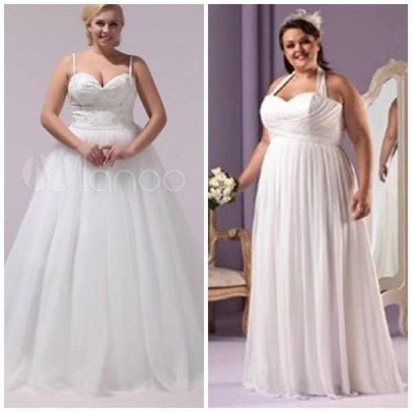 Vestidos Plus Size para Noivas
