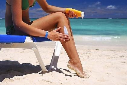 Use protetor solar para ter um Bronzeado Perfeito