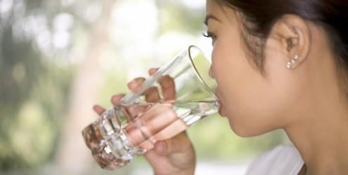 Beber água para Driblar o calor