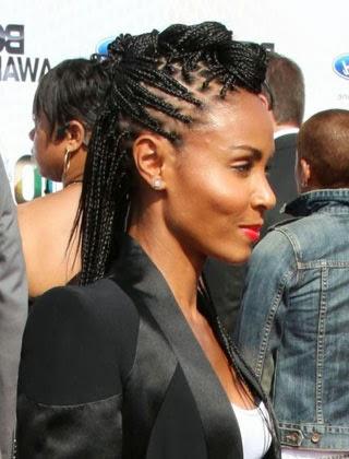 Trancas embutidas para cabelos afros