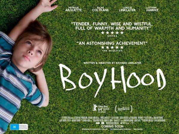Boyhood é um drama romântico no cinema brasileiro em janeiro de 2015