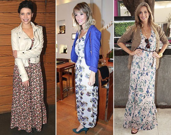 Vestido floral é uma das peças de roupa que nunca saem de moda