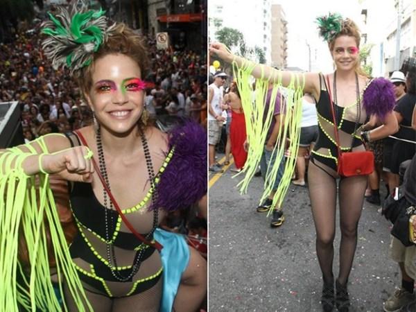 Fantasia de carnaval da Leandra Leal