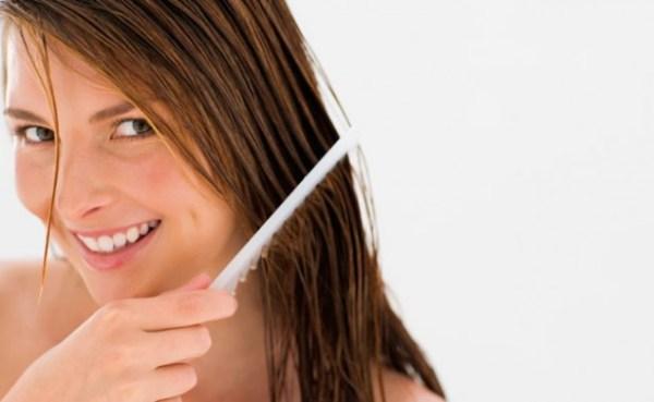 Máscara de tratamento para cabelo fino e frágil