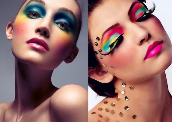 Maquiagem de carnaval para travesti
