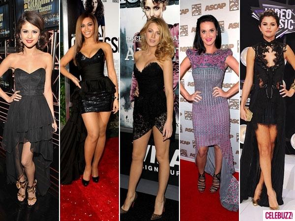 Celebridades usando roupas com Recorte Mullet
