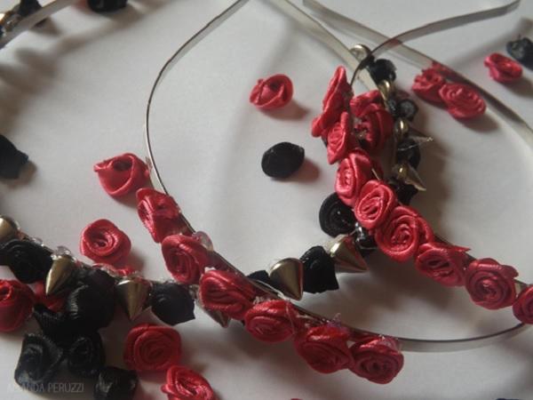 Foto de tiaras com flores