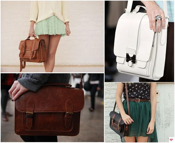 como combinar roupas e bolsas