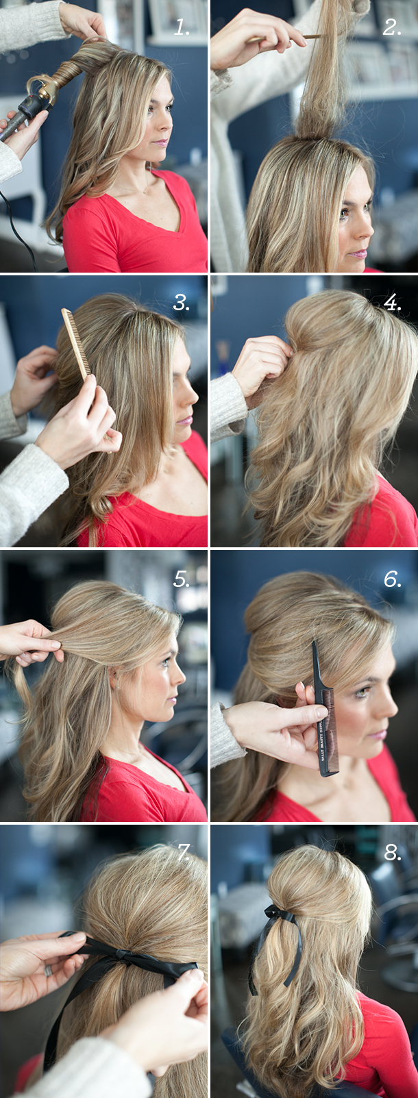 penteados bonitos para cabelos cacheados