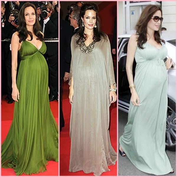 fotos e imagens de vestidos de festa para grávidas