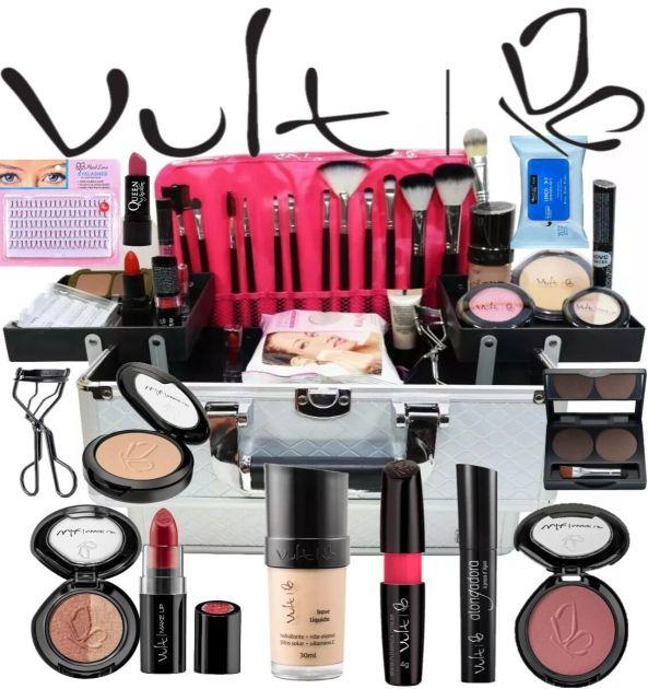 Produtos Vult - considerada uma das melhores marcas de maquiagem